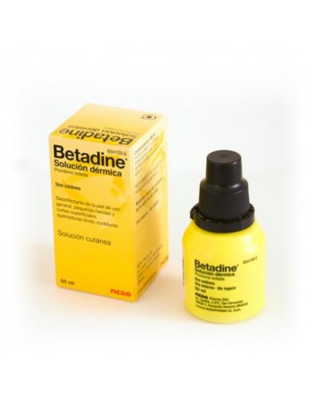 Betadine 100 mg/ml Solución Cutánea 1 Frasco 50 ml