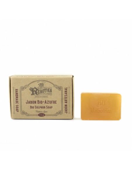 Jabón Bio Azufre 115 gt Antiacné Mi Rebotica