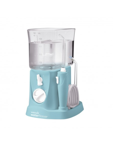 Irrigador Bucal Electrico Waterpik Wp-300 Travel Viajes Azul
