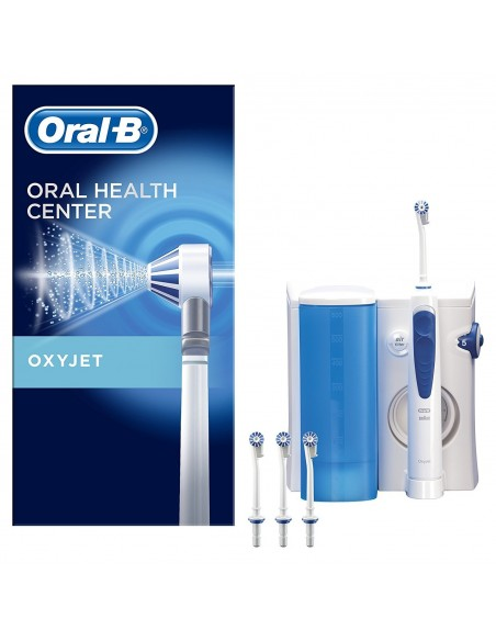 Irrigador Oxyjet Dental Electrico Oral B Profess C/ 4 Cabezales